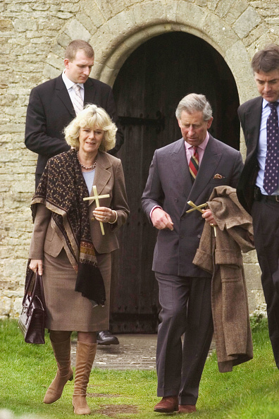 Religious Mass「Charles And Camilla Attend Palm Sunday Church Service」:写真・画像(10)[壁紙.com]