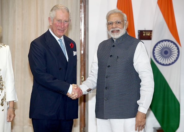 Delhi「The Prince Of Wales & Duchess Of Cornwall Visit Singapore, Malaysia, Brunei And India - Day 9」:写真・画像(9)[壁紙.com]