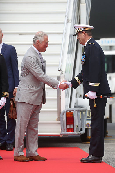 Nice Côte d'Azur Airport「Prince Of Wales And Duchess Of Cornwall Visit Greece」:写真・画像(17)[壁紙.com]
