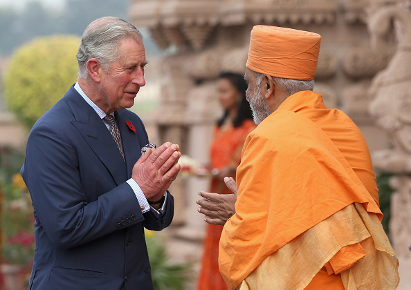 Bindi「The Prince Of Wales And Duchess Of Cornwall Visit India - Day 3」:写真・画像(17)[壁紙.com]