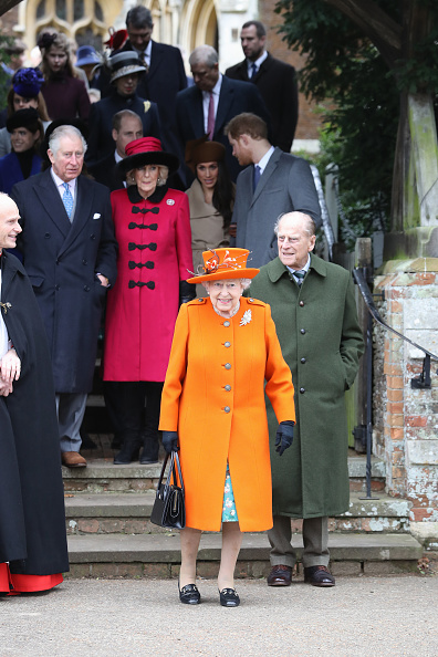 Christmas「Members Of The Royal Family Attend St Mary Magdalene Church In Sandringham」:写真・画像(15)[壁紙.com]