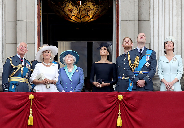 100th Anniversary「Members Of The Royal Family Attend Events To Mark The Centenary Of The RAF」:写真・画像(5)[壁紙.com]