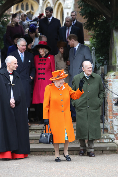Attending「Members Of The Royal Family Attend St Mary Magdalene Church In Sandringham」:写真・画像(0)[壁紙.com]