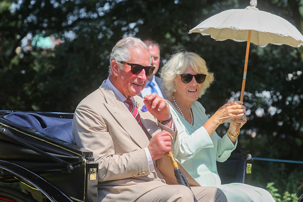 King's Lynn「The Prince Of Wales And The Duchess Of Cornwall Visit Sandringham Flower Show 2019」:写真・画像(5)[壁紙.com]