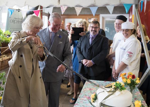 スイーツ「The Prince Of Wales And Duchess Of Cornwall Visit Devon And Cornwall - Day 3」:写真・画像(0)[壁紙.com]