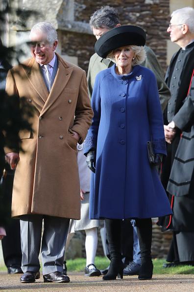 King's Lynn「The Royal Family Attend Church On Christmas Day」:写真・画像(7)[壁紙.com]
