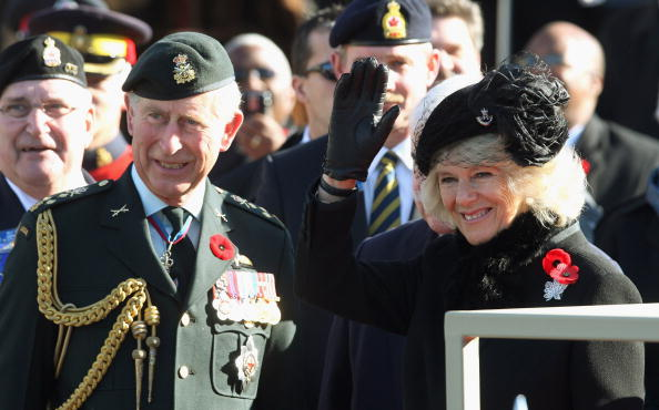 National War Memorial「The Prince Of Wales And Duchess Of Cornwall Visit Canada - Day 10」:写真・画像(4)[壁紙.com]