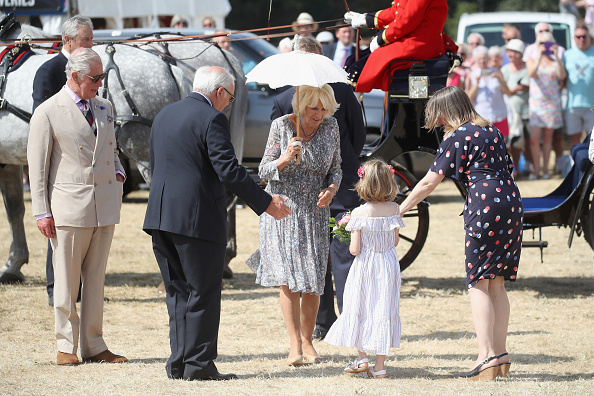 King's Lynn「The Prince Of Wales And Duchess Of Cornwall Visit Sandringham Flower Show 2018」:写真・画像(18)[壁紙.com]