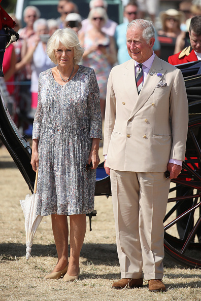 King's Lynn「The Prince Of Wales And Duchess Of Cornwall Visit Sandringham Flower Show 2018」:写真・画像(6)[壁紙.com]