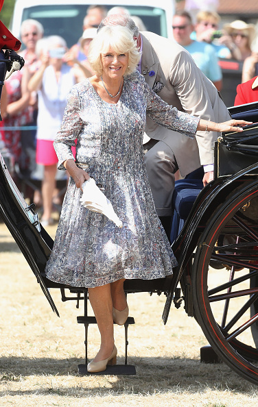 King's Lynn「The Prince Of Wales And Duchess Of Cornwall Visit Sandringham Flower Show 2018」:写真・画像(11)[壁紙.com]