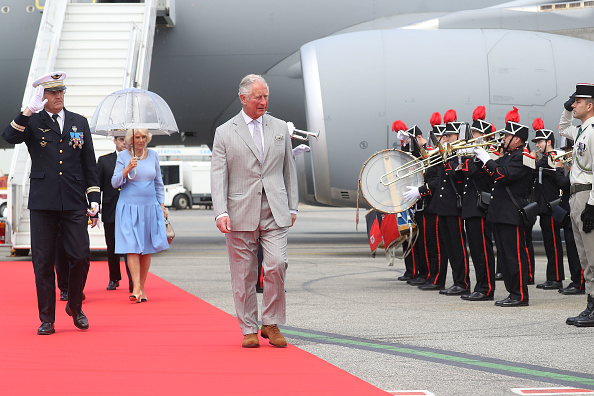 Nice Côte d'Azur Airport「Prince Of Wales And Duchess Of Cornwall Visit Greece」:写真・画像(12)[壁紙.com]