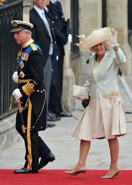 High Heels「Royal Wedding - Wedding Guests And Party Make Their Way To Westminster Abbey」:写真・画像(13)[壁紙.com]