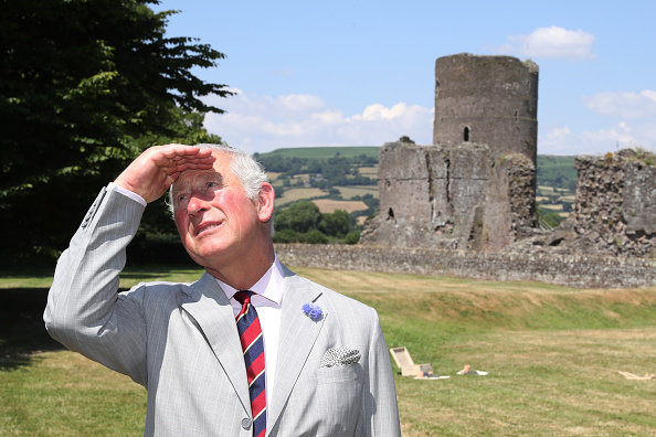 Visit「The Prince Of Wales And Duchess Of Cornwall Visit Wales」:写真・画像(4)[壁紙.com]