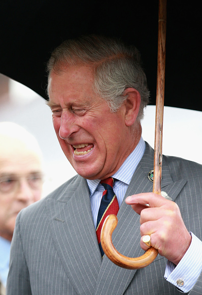 Making A Face「The Prince Of Wales & Duchess Of Cornwall Visit Wales - Day 3」:写真・画像(4)[壁紙.com]