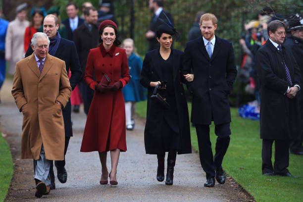 The Royal Family Attend Church On Christmas Day:ニュース(壁紙.com)