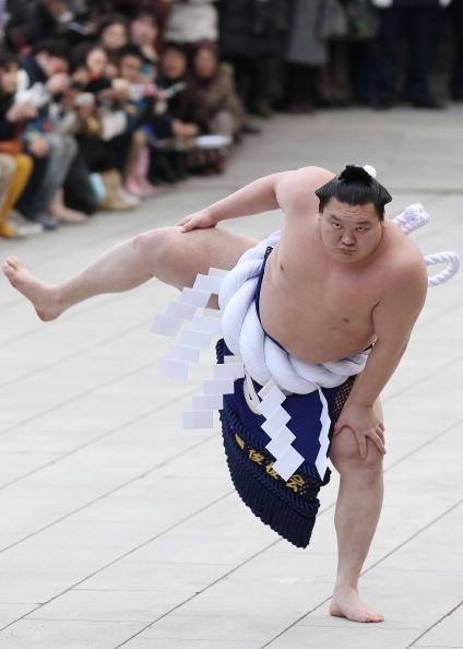 白鵬「Sumo Grand Champions Celebrate The New Year」:写真・画像(0)[壁紙.com]