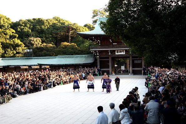 白鵬「Sumo Grand Champions Celebrate The New Year」:写真・画像(7)[壁紙.com]