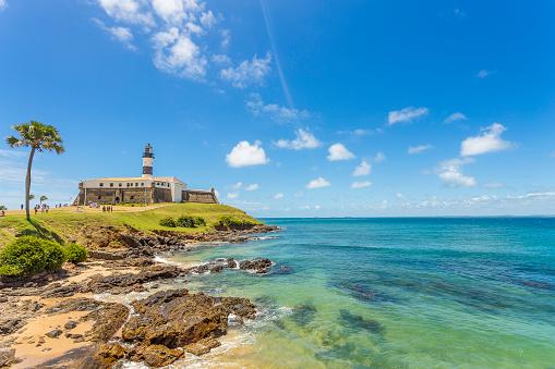 Brazil「Barra's Lighthouse on a clear day in Bahia.」:スマホ壁紙(18)