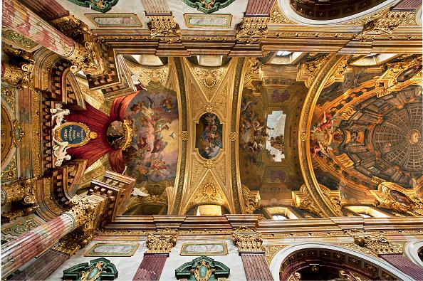 Ceiling「Ceiling Of The Jesuit Church」:写真・画像(10)[壁紙.com]