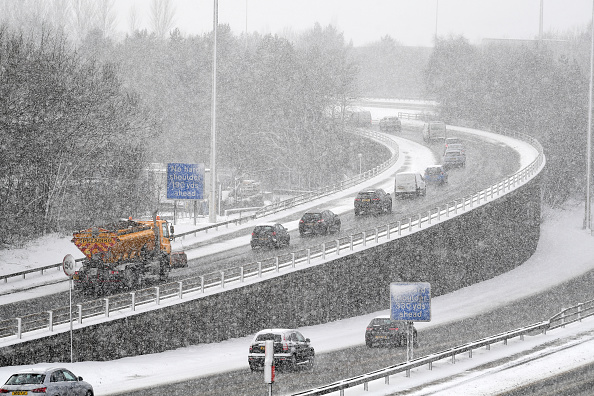Snow「Britain Freezes As Siberian Weather Sweeps Across The Country」:写真・画像(12)[壁紙.com]