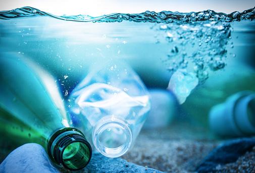 Aquatic Organism「Ocean Plastic Pollution」:スマホ壁紙(7)