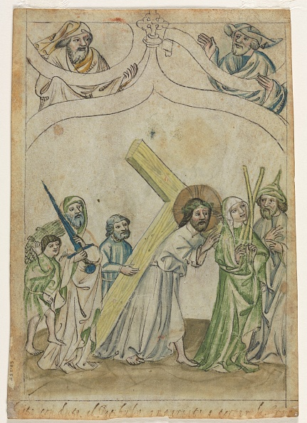 """Single Object「Single Leaf From A """"Biblia Pauperum"""": Christ Crowned With Thorns」:写真・画像(18)[壁紙.com]"""