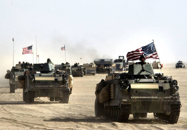 U.S. And British Forces Prepare For Possible War Against Iraq :ニュース(壁紙.com)