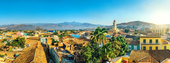 Cuba「Panoramic view over Trinidad, Cuba」:スマホ壁紙(17)