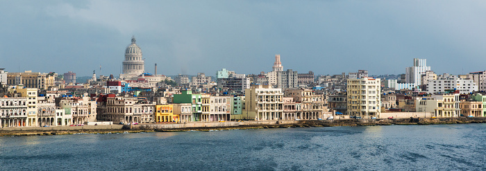 Old Havana「Panoramic view of Old Havana with the Capitol dome.」:スマホ壁紙(8)
