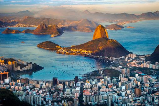 Rio de Janeiro「Panoramic view of Rio de Janeiro.」:スマホ壁紙(0)