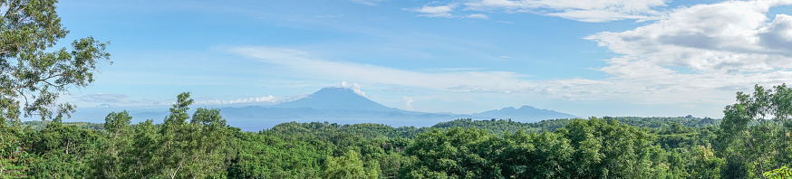 Mt Agung「Panoramic view of Mt Agung volcano, Bali, Indonesia」:スマホ壁紙(17)