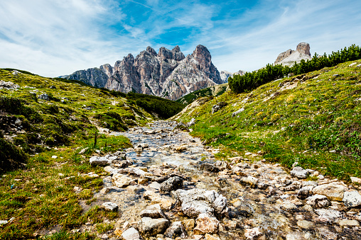 European Alps「panoramic view over Dolomites in Trentino」:スマホ壁紙(14)