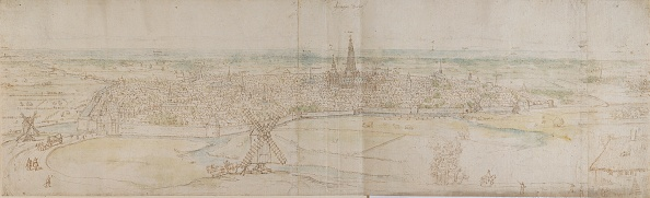 Horizon「Panoramic View Of Shertogenbosch (Den Haag) From An Elevated Point To The South-West,」:写真・画像(0)[壁紙.com]