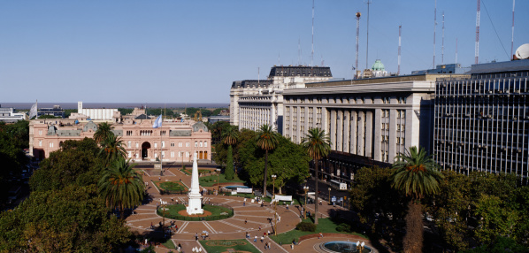 Buenos Aires「Plaza de Mayo, Buenos Aires, Argentina」:スマホ壁紙(4)