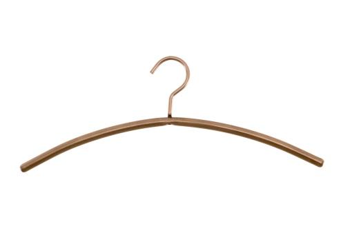 Rack「Single metal coat hanger isolated on white background」:スマホ壁紙(18)