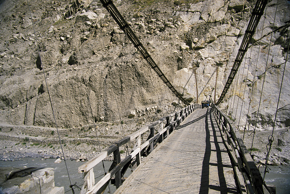String「Rope and plank suspension bridge - Nagar valley - Pakistan」:写真・画像(7)[壁紙.com]