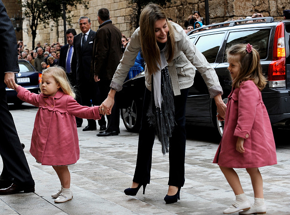 Palma Cathedral「Spanish Royal Family attends Easter Mass in Mallorca」:写真・画像(12)[壁紙.com]