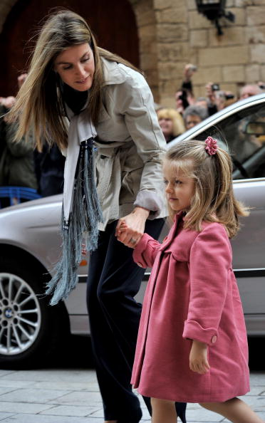 Palma Cathedral「Spanish Royal Family attends Easter Mass in Mallorca」:写真・画像(14)[壁紙.com]