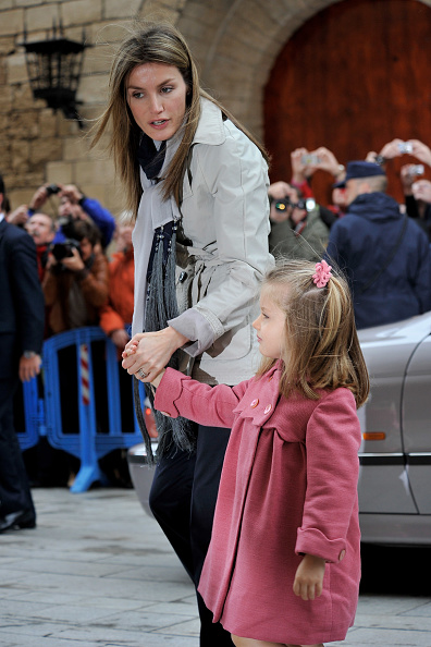 Palma Cathedral「Spanish Royal Family attends Easter Mass in Mallorca」:写真・画像(13)[壁紙.com]