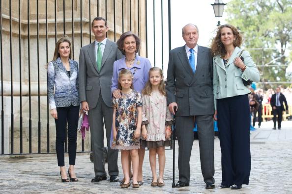 Princess Elena of Spain「Spanish Royals Attend Easter Mass in Palma de Mallorca」:写真・画像(0)[壁紙.com]