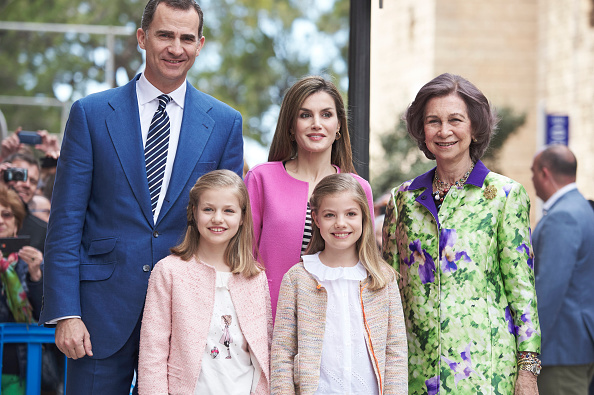 Queen Sofia of Spain「Easter Mass in Palma de Mallorca」:写真・画像(11)[壁紙.com]