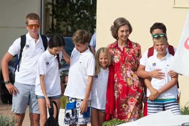 Spanish Royals At The Calanova Nautic Club In Mallorca:ニュース(壁紙.com)