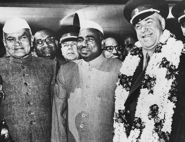 Delhi「Jagjivan Ram, Georgy Zhukov And Kailash Nath Katju」:写真・画像(3)[壁紙.com]