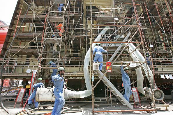 Scaffolding「Dubai Dry Dock, Jumeirah, Dubai, United Arab Emirates, June 2007.」:写真・画像(18)[壁紙.com]