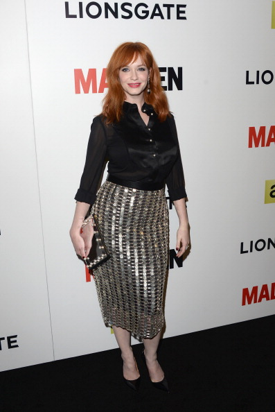 "Blouse「AMC Celebrates The Season 7 Premiere Of ""Mad Men"" - Arrivals」:写真・画像(1)[壁紙.com]"