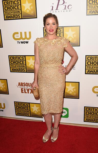 Metallic Shoe「4th Annual Critics' Choice Television Awards - Press Room」:写真・画像(12)[壁紙.com]