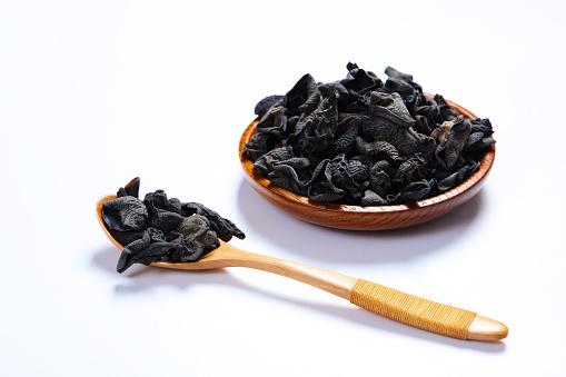 キクラゲ「A tray black fungus」:スマホ壁紙(10)
