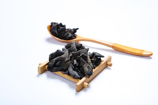 キクラゲ「A tray black fungus」:スマホ壁紙(11)