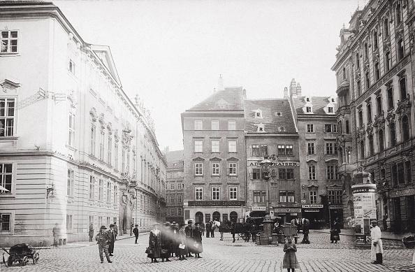 Footpath「Judenplatz (Jewish Square). Inner City. Vienna. Austria. Photograph. About 1895.」:写真・画像(13)[壁紙.com]