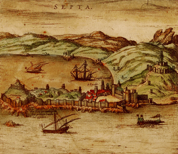 16th Century「Ceuta (From Civitates Orbis Terrarum)」:写真・画像(19)[壁紙.com]